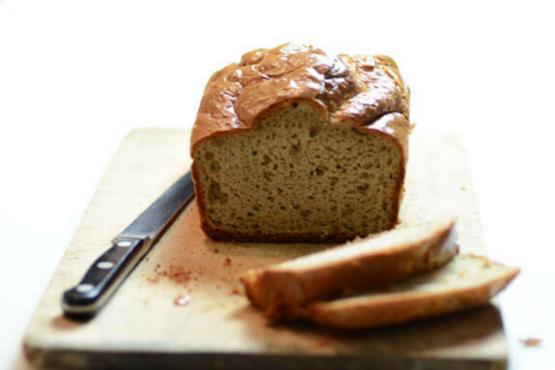 Бърз и лесен хляб без глутен от тахан от кашу Theia's Tahini