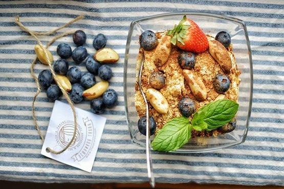 десерт с лешников тахан