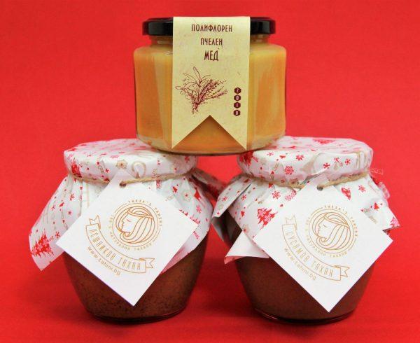 Лешник, Сусам и Полифлорен мед 500г